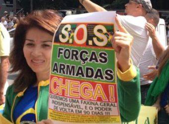 apoio a ditadura