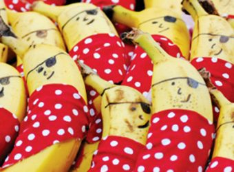 banana pirates for a pirate party