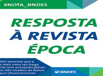 resposta do BNDS