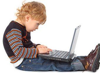 criança computador