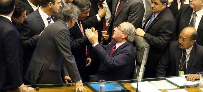 Cunha comissão do impeachment