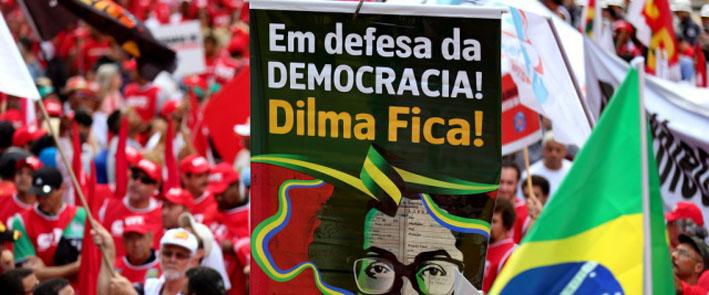 manifestação pro dilma