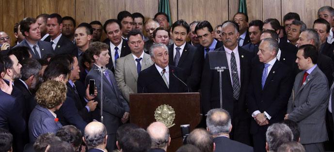 Temer discurso Foto Valter Campanato Agência Brasil
