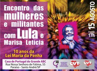 Encontro das mulheres com Lula