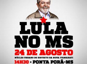 Lula no MS