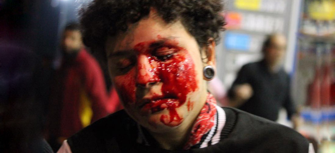 violencia contra manifestação sp Jornalistas Livres