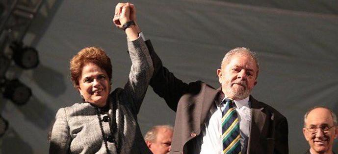Lula e Dilma em Curitiba