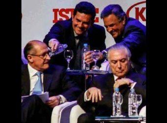 Moro Aécio Alckimin e Temer