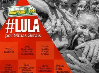 Lula em MG