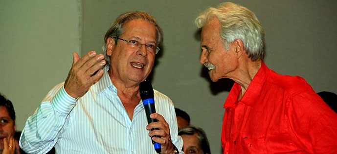 Zé Dirceu e Zarattini