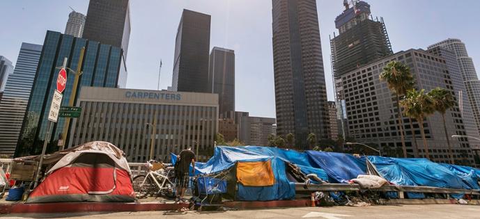 Número de moradores de rua dispara na capital da miséria dos ...