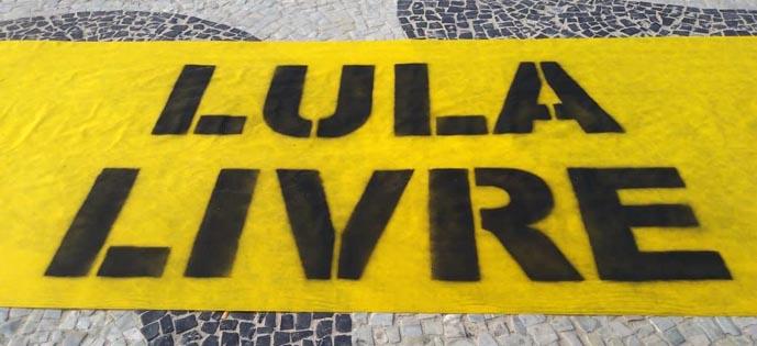 Cartões Postais Do Rio Têm Lula Livre Bem Blogado