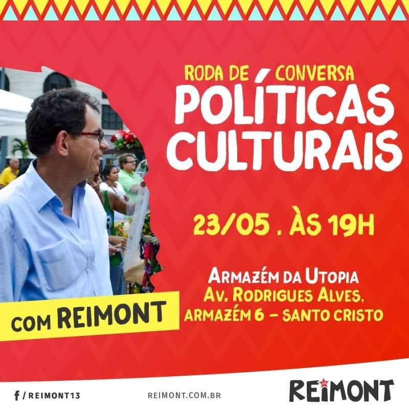 23/05 – Roda de Conversa Políticas Culturais /