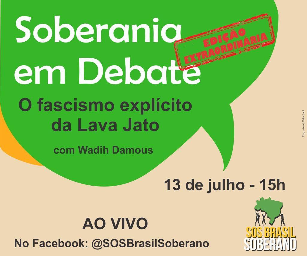 13/07 – Soberania em Debate