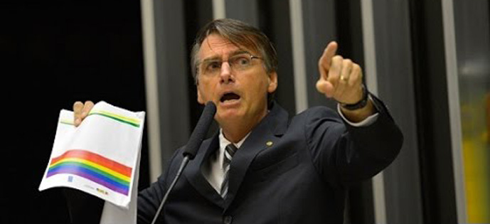 Bolsonaro gay