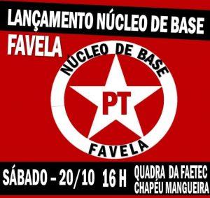 20/10 Lançamento Núcleo de Base: Favela /RJ