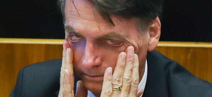 Bolsonaro olho Lula Marques