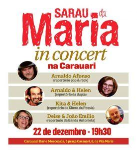 22/12 – Sarau da Maria / SP