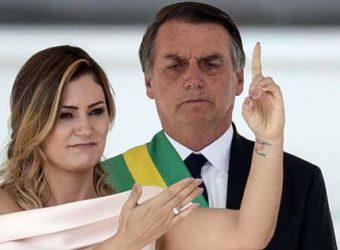 Michele Bolsonaro libras