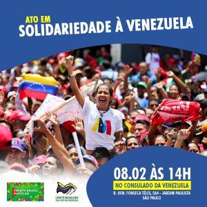 08/02 – Ato em solidariedade a Venezuela / SP