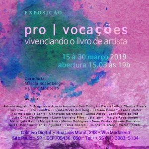 de 15/03 a 30/03 – Pro | Vocações / SP