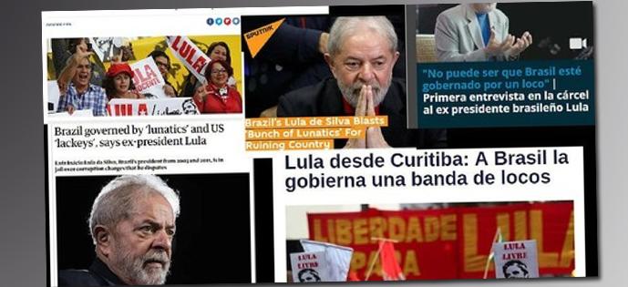 Lula entrevista repercussão