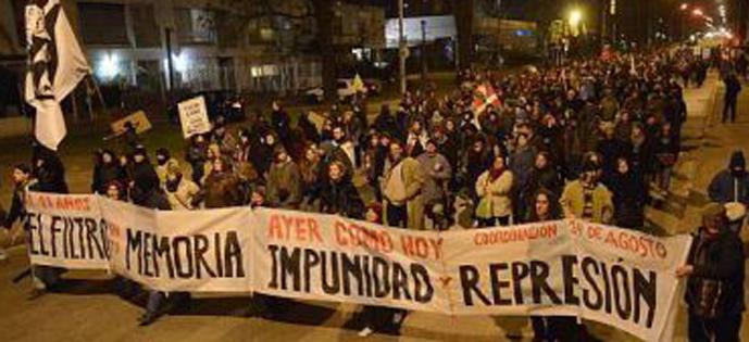 Uruguai manifestação