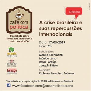 17/05 – Café com Política / RJ