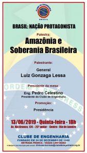 13/06 – Palestra Amazônia e a Soberania Brasileira / RJ
