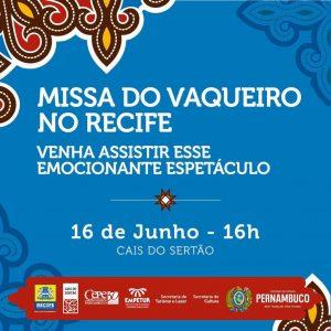 16/06 – Missa do Vaqueiro no Recife / PE