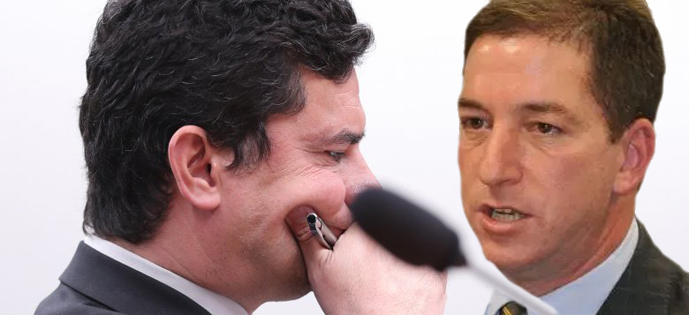 Moro e Glenn Greenwald