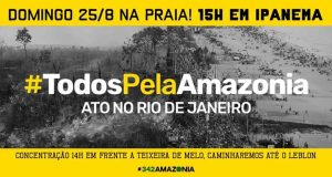 25/08 – Ato Todos Pela Amazônia / RJ