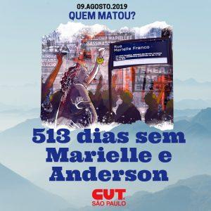 09/08 – 503 Dias Sem Marielle e Anderson / SP