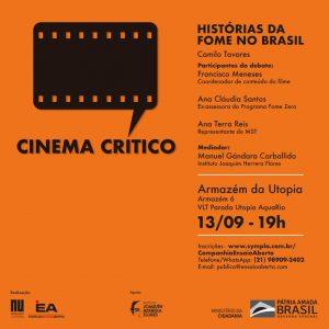13/09 – Cinema Crítico: Histórias da Fome no Brasil / RJ