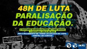 02/10 – 48h de Luta pela Paralisação da Educação