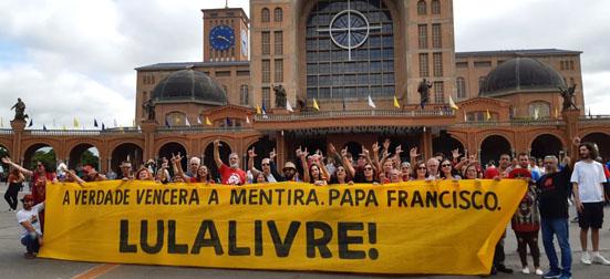 Lula Livre Aparecida capa