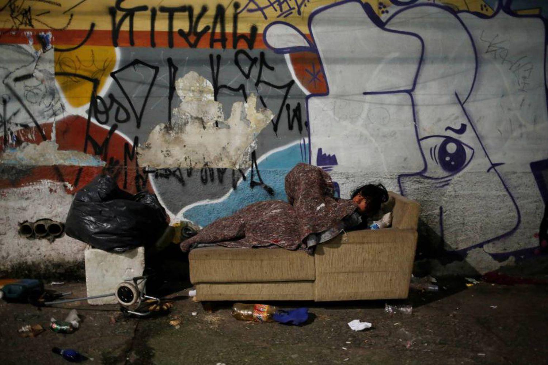 morador de rua em sp