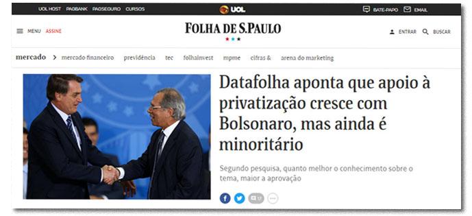 uol privatização
