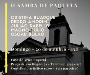 20/10 – O Samba de Paquetá