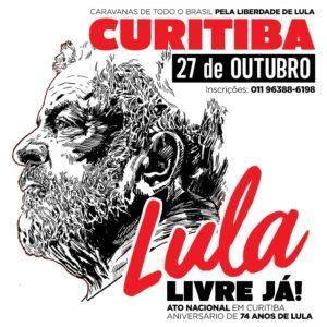 27/10 – Lula Livre Já / PR