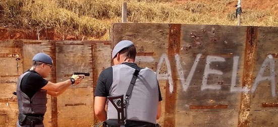 PM Favela treinamento