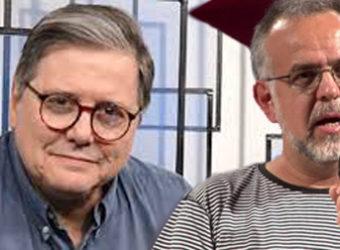 Paulo Moreira Leite e Kiko Nogueira