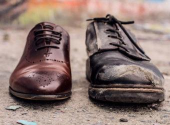 desigualdade sapatos