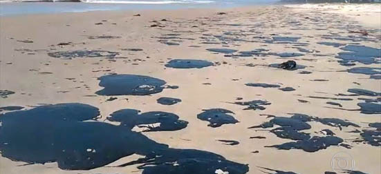 vazamento de oleo nordeste