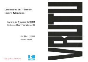 22/11 – Lançamento: Vrutu de Pedro Menezes