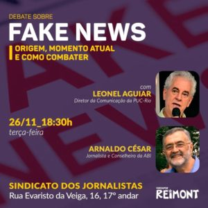 26/11 – Debate sobre Fake News