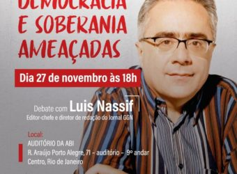 27/11 – Debate com Luiz Nassif / RJ