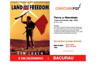28/11 – Cinema Clube Pqt: Terra e Liberdade / RJ