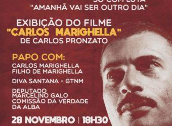 28/09 – Cine Operário: Carlos Marighella / PE