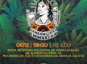 06/12 – Roda de Samba Solidária / SP